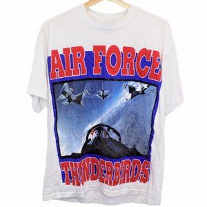 W78 Vintage Fruit of the Loom Air Force Shirt